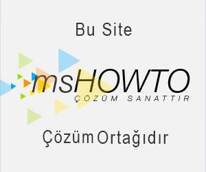 Türkiye'nin en doğru, dolu dolu ve hatasız anlatımları ile teknik yazılarına, makalelerine, video'larına,  seminerlerine, forum sayfasına ve sektörün önde gelenlerine ulaşabileceğiniz teknik topluluğu, MSHOWTO